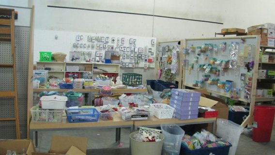 For teaching supplies for